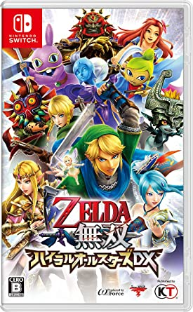 Zelda Musou Hyrule All Stars DX NINTENDO SWITCH JAPANESE IMPORT REGION FREE: Amazon.es: Videojuegos