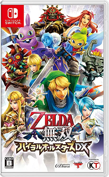 Zelda Musou Hyrule All Stars DX NINTENDO SWITCH JAPANESE IMPORT ...