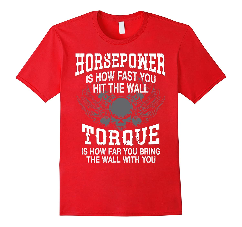 diesel mechanic t shirts funny - Horsepower Torque-FL