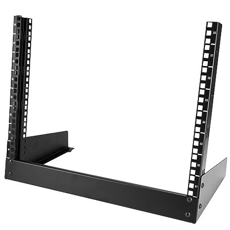 StarTech 8U Desktop Rack - 2-Post Open Frame Rack RK8OD