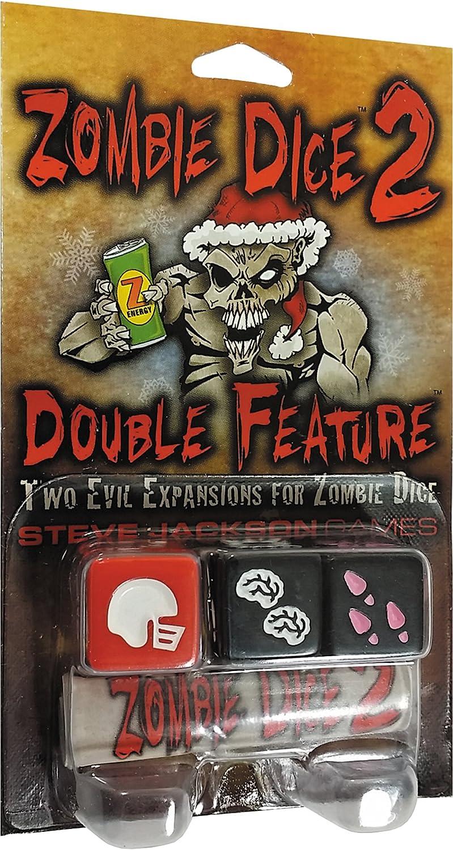 Steve Jackson Games 31324 - Zombie Dice 2 Double Feature, Juego de Dados (de 2 a 6 Jugadores)