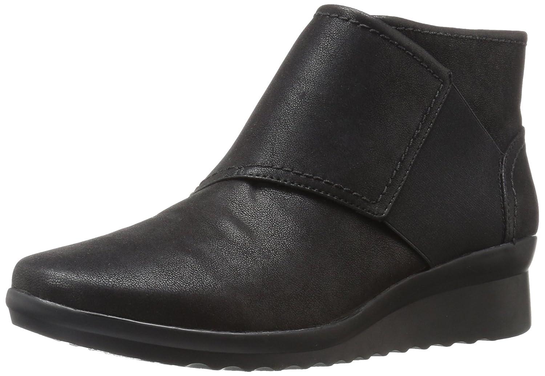 CLARKS Women's Caddell Rush Boot B01NAQLMI5 7.5 W US|Black