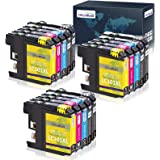 OfficeWorld LC101 LC101XL LC103 LC103XL Ink Cartridges Replacement, Compatible with MFC-J470DW MFC-J475DW MFC-J870DW MFC-J875
