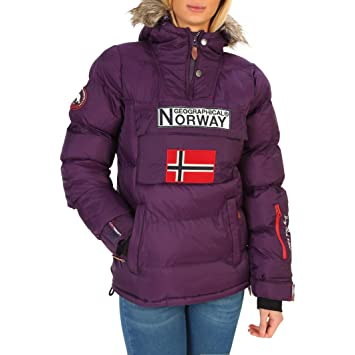Geographical Norway Anson_woman Chaquetas Mujer Violeta 4 ...