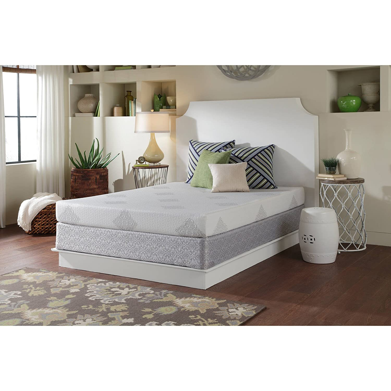 amazon com sealy boca breeze firm mattress california king with