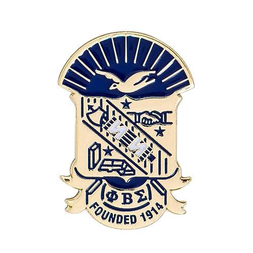 045f01429c1c Amazon.com: Desert Cactus Phi Beta Sigma Fraternity Crest Lapel Pin ...