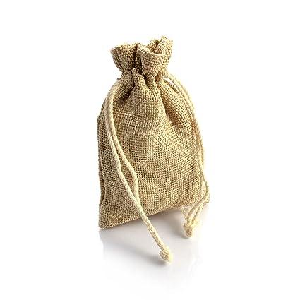 Conjunto de 20 yute de estilo rústico, bolsa, bolsa, color ...