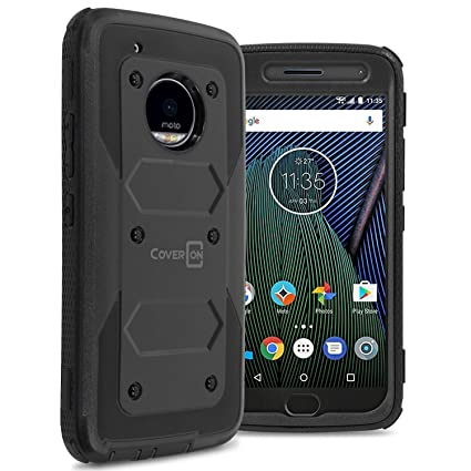 Amazon.com: Moto G5 Plus Caso, Moto X 2017 Caso, coveron ...