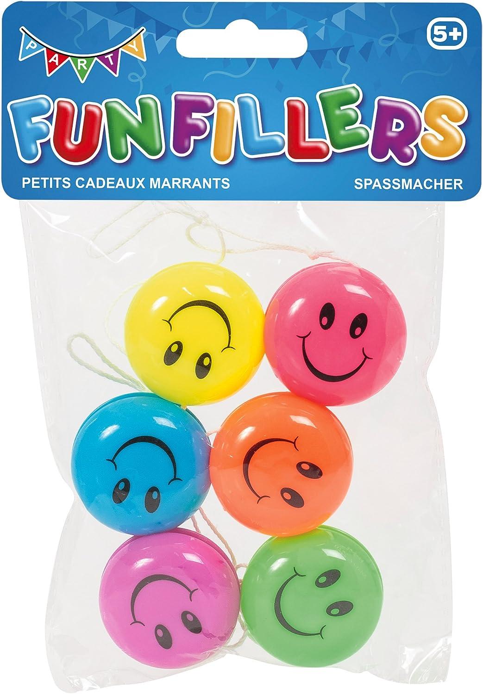 Confezione da 6 Tobar Smiler Yoyos