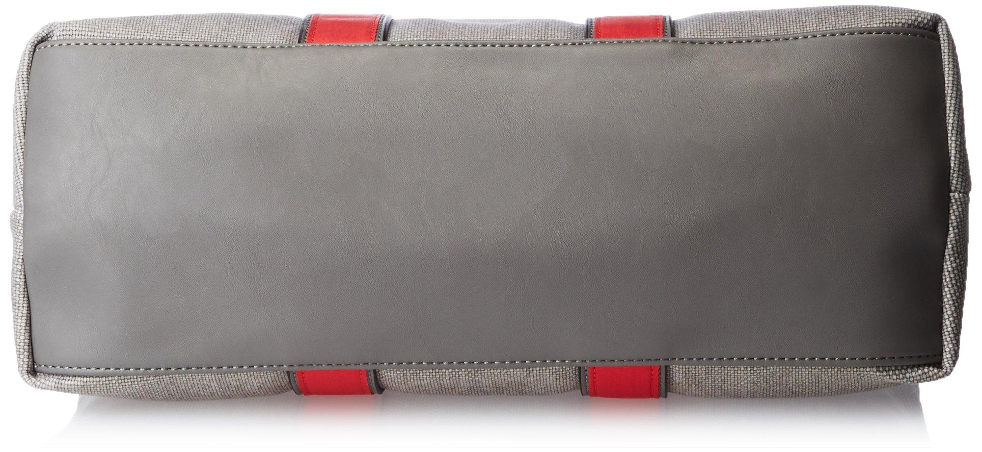 Splendid Cape May Satchel Top Handle Bag, Grey, One Size by Splendid (Image #4)
