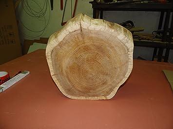 Baumscheibe Holzscheibe 15 x 6 cm ca Eiche