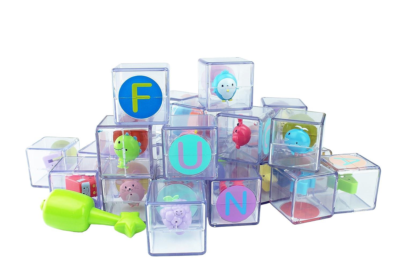 0d513eb0d71e Amazon.com  Mirari ABC Flip Flop Blocks  Toys   Games