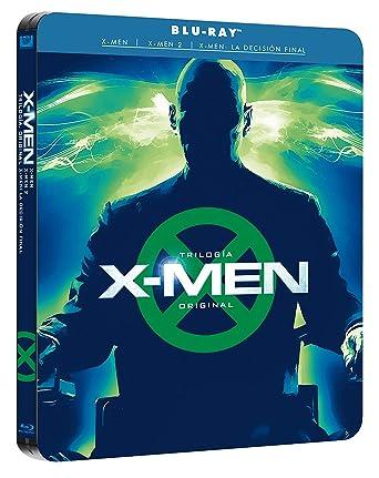 Pack X-Men Trilogía Original Black Mtl Ed Blu-Ray Blu-ray: Amazon ...