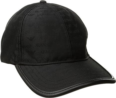 Armani Jeans Baseball Mütze, Gorra de béisbol para Hombre, Negro ...