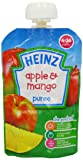 Heinz Apple and Mango Fruit Pouch 4-36 Months 100 g (Pack of 6)