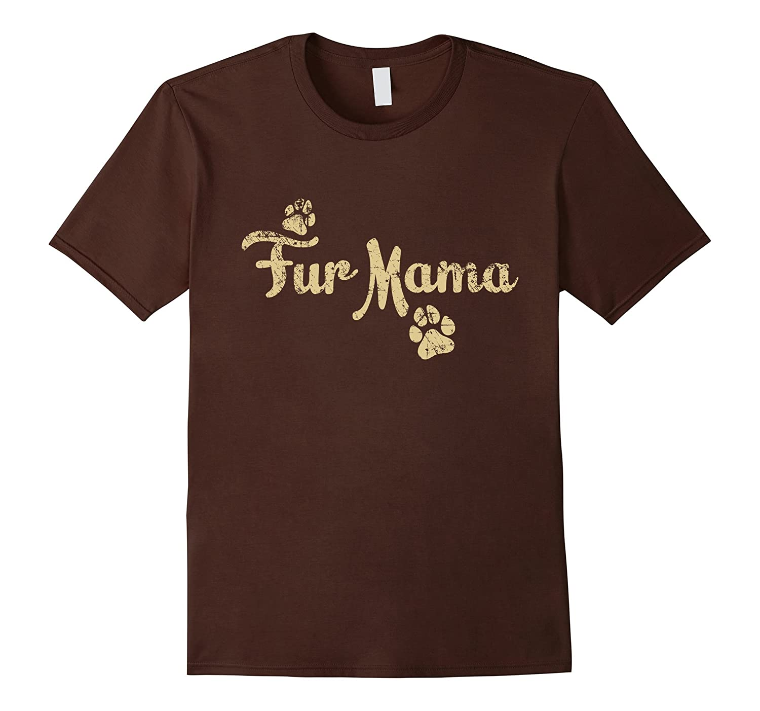 Fur Mama T Shirt, Dog Cat Lover Mom Mommy Babies Gift-ah my shirt one gift