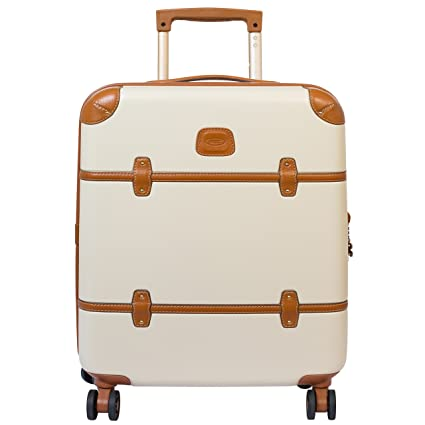 e9965f117 Bric's Luggage Bellagio Ultra-Light 21 Inch Carry On Spinner Trunk, Cream,  One Size: Amazon.co.uk: Luggage