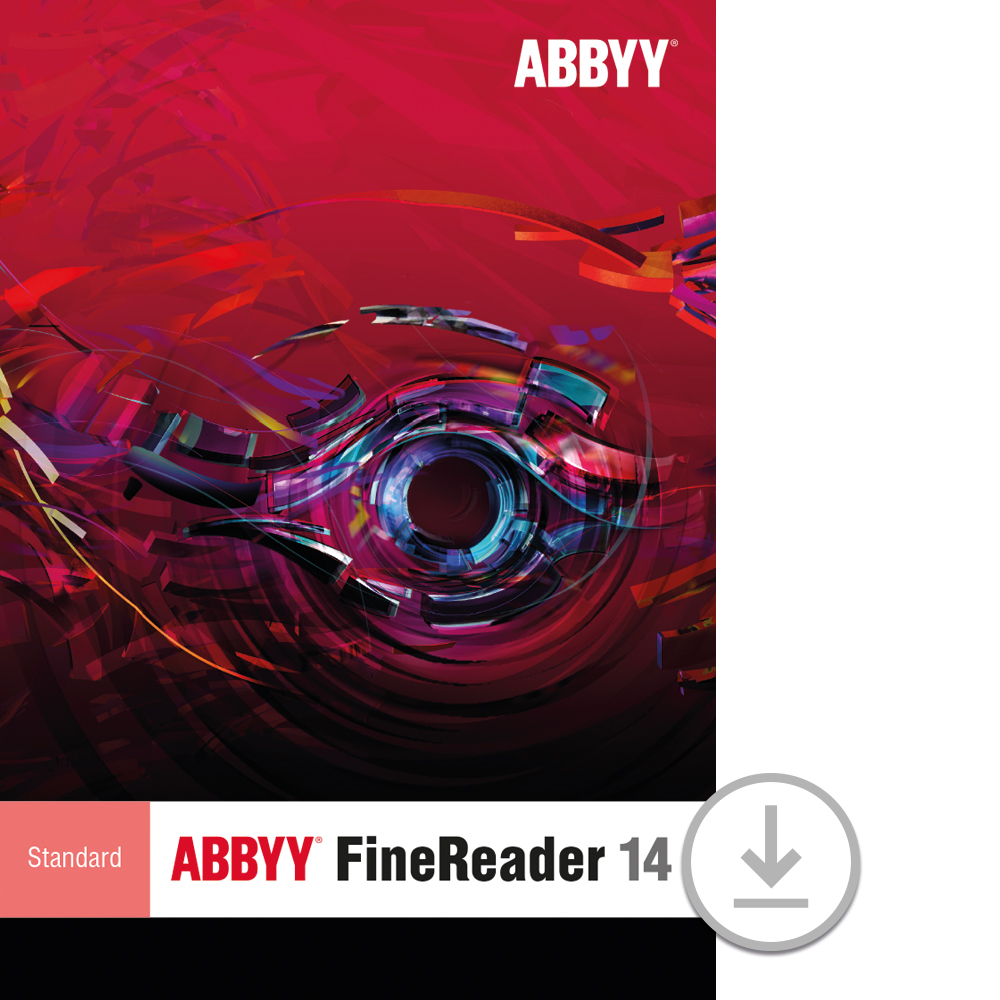 ABBYY FineReader 14 Standard for PC [Download] by Abbyy USA