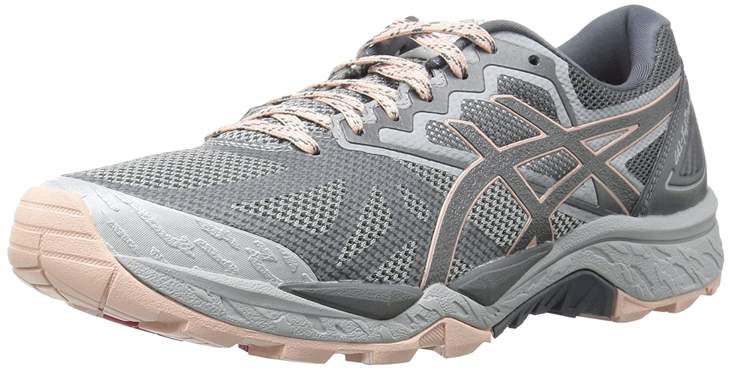ASICS Women's Gel-Fujitrabuco 6 Running Shoe B01N8TQJPI 6 B(M) US|Mid Grey/Carbon/Evening Sand