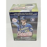 $38 » 2021 Topps Stadium Club Baseball Blaster Box 41 Cards