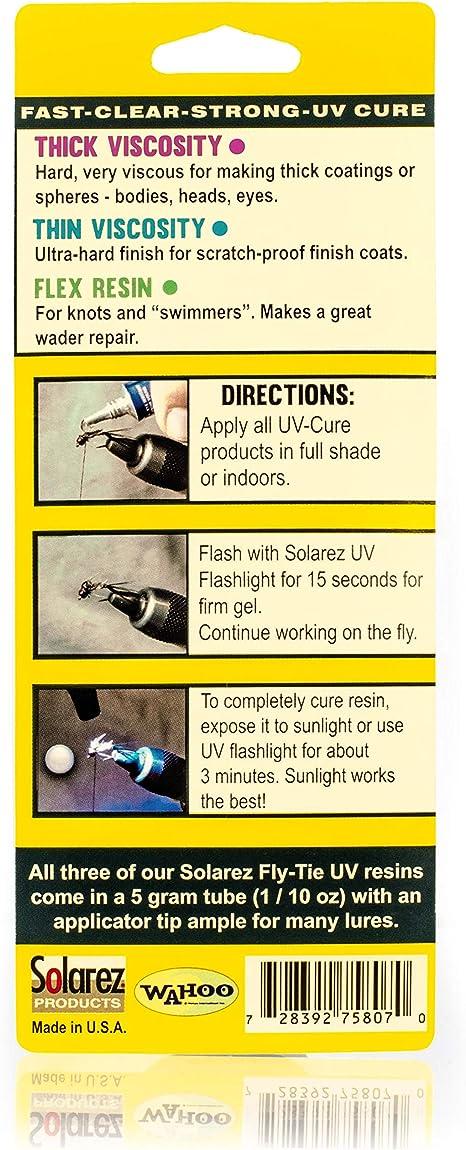 Hard For Fly Tying Medium Viscosity UV Cure Resin 120g