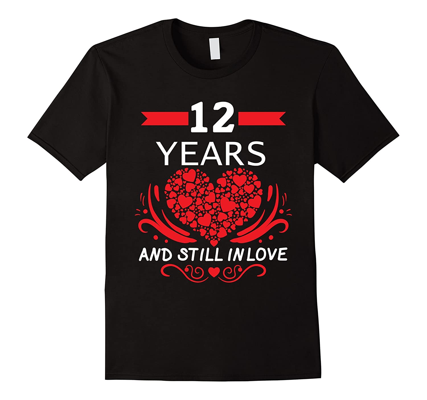 Wedding Anniversary Gifts 12 Years: 12th Wedding Anniversary Gifts 12 Year Shirt For Him And