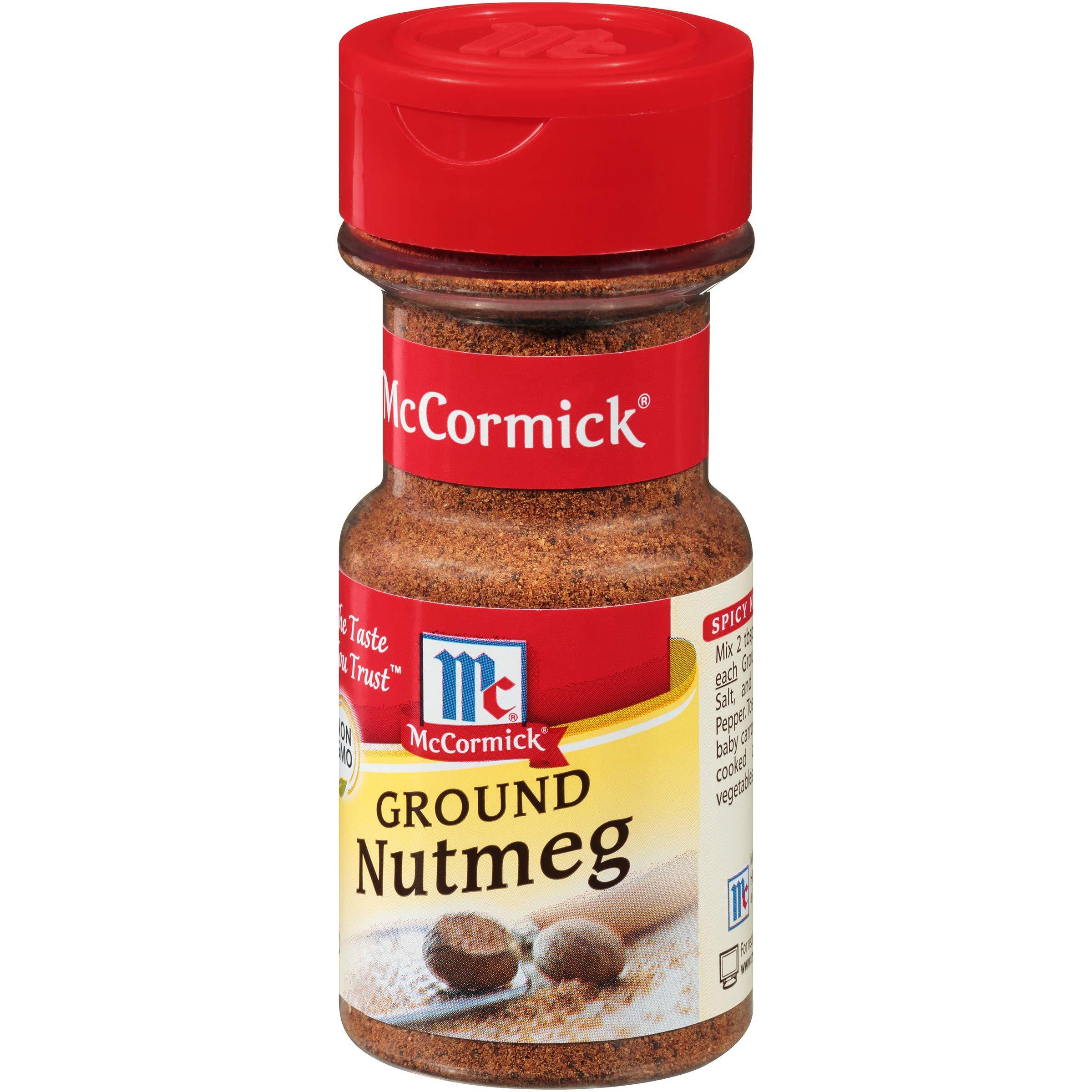 McCormick Ground Nutmeg, 2 oz