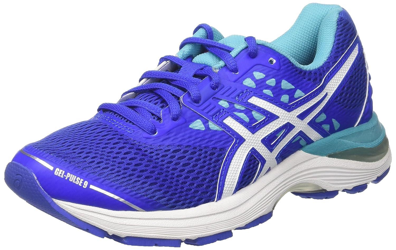 Asics Gel-Pulse 9, Zapatillas de Running para Mujer 40.5 EU|Morado (Blue Purple / White / Aquarium)