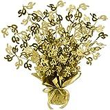 Beistle Gold 50 Gleam 'N Burst Centerpiece, 15-Inch, Gold