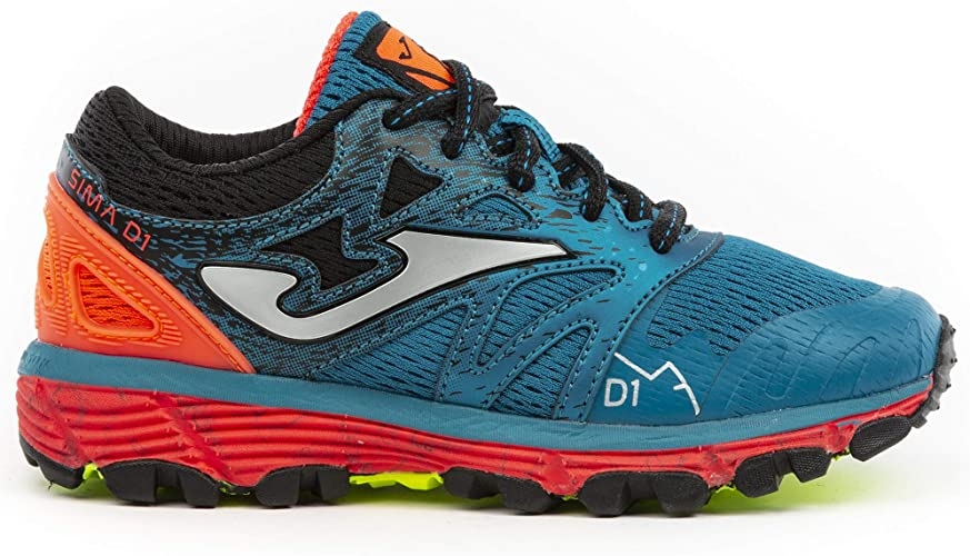 Joma Adventure Shoes Junior Sima 904 - Zapatillas de Deporte, Color Azul y Naranja: Amazon.es: Zapatos y complementos