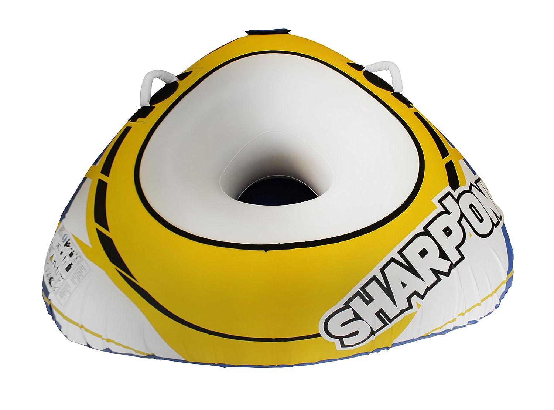ORANGEMARINE Bouée tractée SHARP'ONE - Jaune/Blanc ORAR2|#Orangemarine 1375001