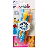 Munchkin Click Lock Replacement Straw, (Pack of 2)