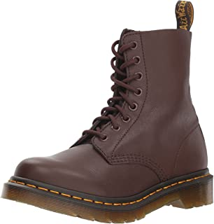 bc1095d550f Amazon.com | Dr. Martens Women's Pascal Leather Combat Boot ...