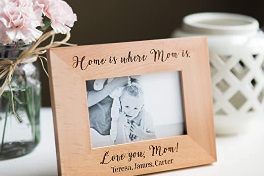 MR /& MRS MY BABY or OUR FAMILY Wood Easel Style Photo Frame with wording