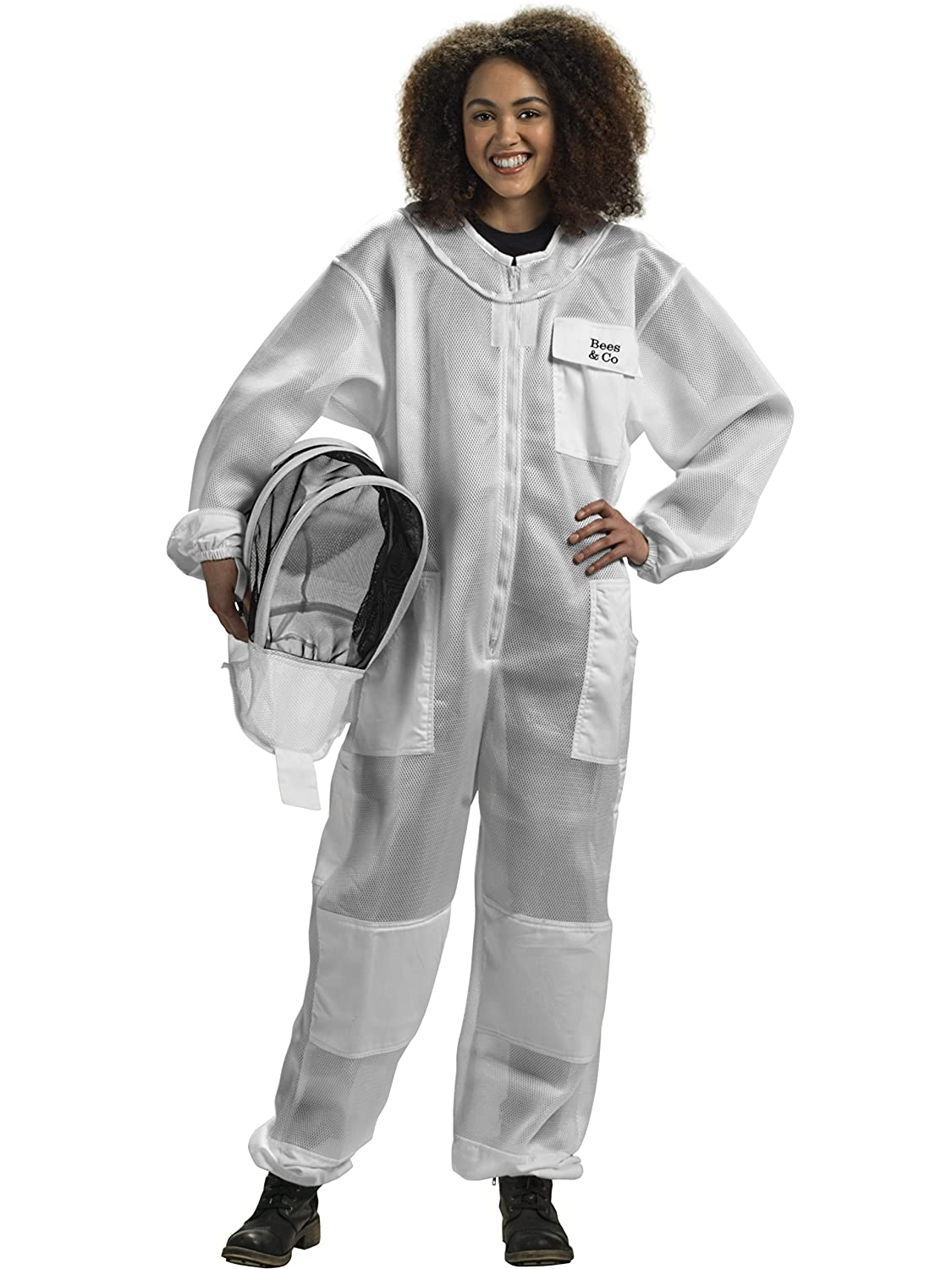 Bees & Co U84 Ultralight Beekeeper Suit with Fencing Veil Sigma Lux