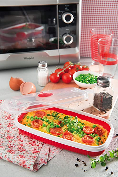 Snips Mikrowelle Schale Essen Spritzer Platte Abdeckung