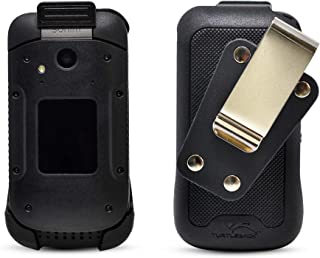 product image for Unbreakable Balastec Holster for Sonim XP3 - Removable Swivel Belt Clip by Turtleback | Designed in USA