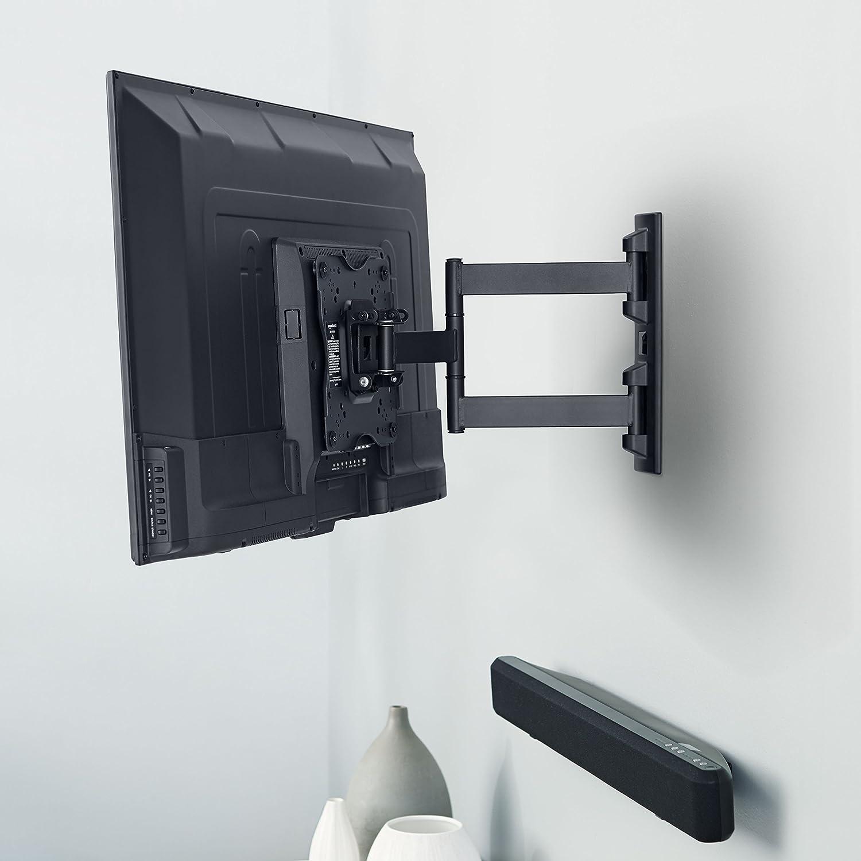 Soporte articulado de montaje en pared para televisores de 12 a 39 Basics