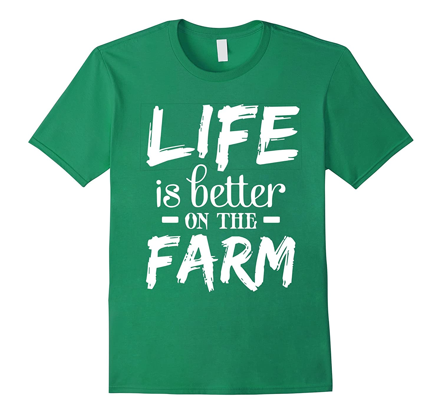 Perfect Farmer T-shirt Gift LIFE is better on the FARM-FL