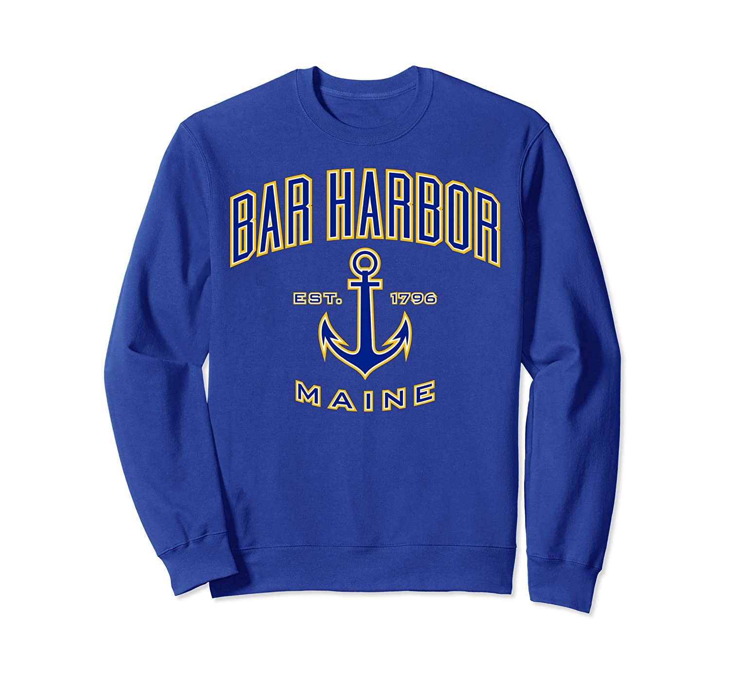 Bar Harbor ME Sweatshirts for Women & Men-mt