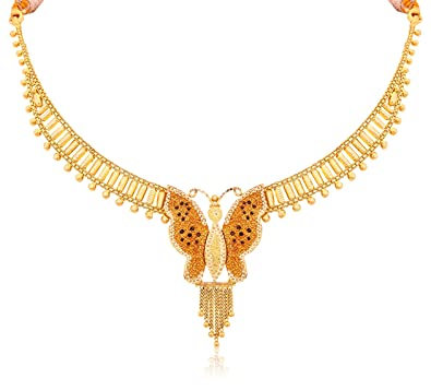 Buy Senco Gold 22k Yellow Gold Chain Necklace line at Low Prices