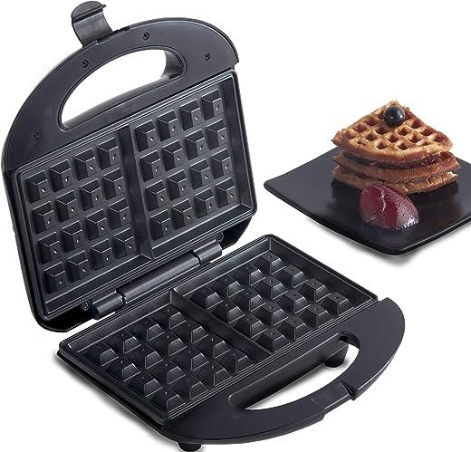 Lifelong LLWM105 Belgian Waffle Maker (Black)