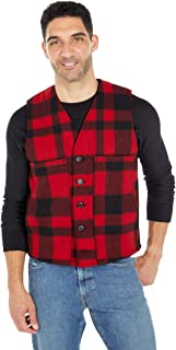 product image for Filson Mackinaw Wool Vest Red/Black