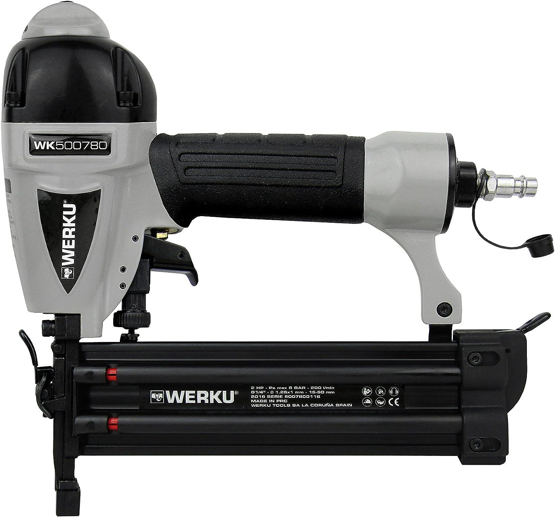 Werku WK500780 Pistola Clavadora Neumática