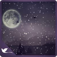 Soothing Snow Fall - A Lonely Evening Landscape