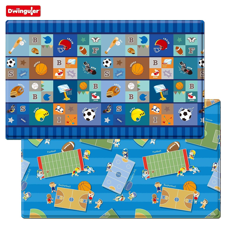 Dwinguler Eco Friendly Kids Play Mat Star Player Playmat Size L 230 X 140 15 Cm Music Parade Large