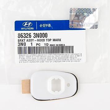 Hyundai Equus Hood Ornament Bracket 86326-3N000 Spacer