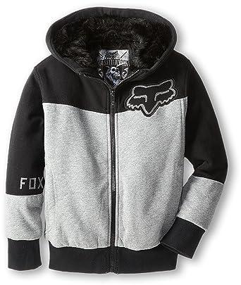 873253f33 Amazon.com: Fox Racing Youth Boys Mogul Sasquatch Fleece Hoody Zip  Sweatshirt: Clothing