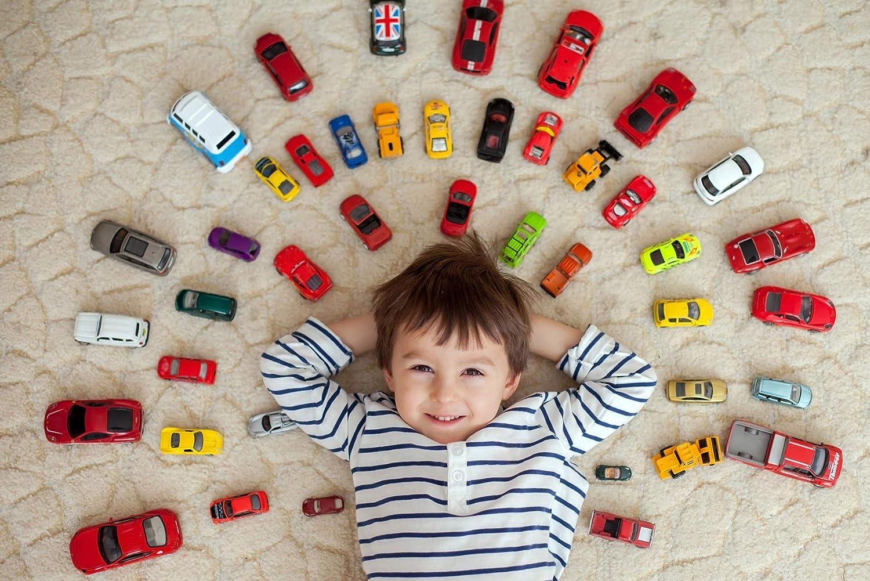 80 x 120 cm Spielteppich Raduno Strassenteppich F/ür Auto Teppich Kinderzimmer Junge