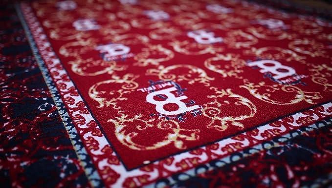 Thomann Drum Rug Oriental Red Carpet Vidalondon